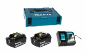 Makita Power Source-Kit 18V/4Ah 2xBL1840B + DC18RC
