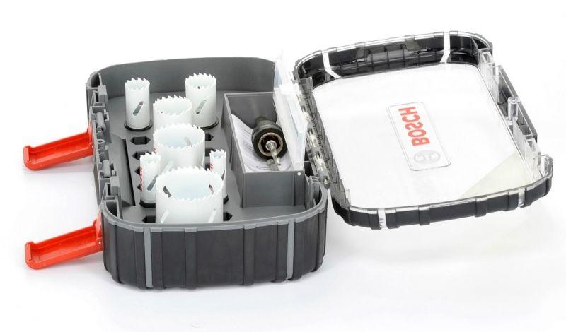 Bosch 10-tlg. Lochsägen-Set Progressor Universal 2.608.580.872