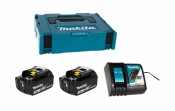 Makita Power Source-Kit 18V 3Ah 2x BL1830B + DC18RC
