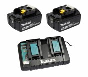 Makita 199484-8 Power Source-Kit 18V 6Ah 2x BL1860B + DC18RD